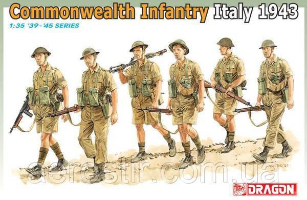 Commonwealth Infantry Italy 1943 1/35 Dragon 6380