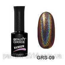 Новинка! Гель-лак «Rainbow» GRS-09, 10 мл