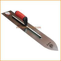 Терка для бетона,600х130 мм неражав. сталь ручка двухкомпонентный (OLEJNIK)