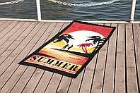 Пляжное полотенце Summer, махра Турция 75*150 см