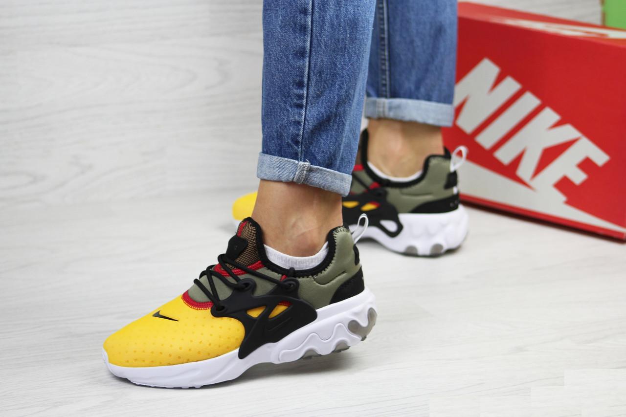 6e7862ce Женские кроссовки Nike Presto React, сетка, текстиль, пена, разноцветные -  Vstrechayut_po_obuvke в