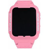 Смарт-часы UWatch K3 Kids waterproof Pink (1604-01)