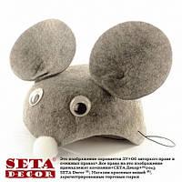 Головной убор шапка Мышонок (мышь) карнавальная