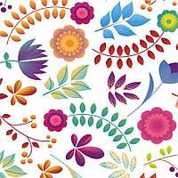 Бумага для скрапбукинга Флора А4 250 г/м