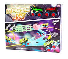 Монстер-Траки (Trix Trux) + 2 машинки со светящимися фарами оптом