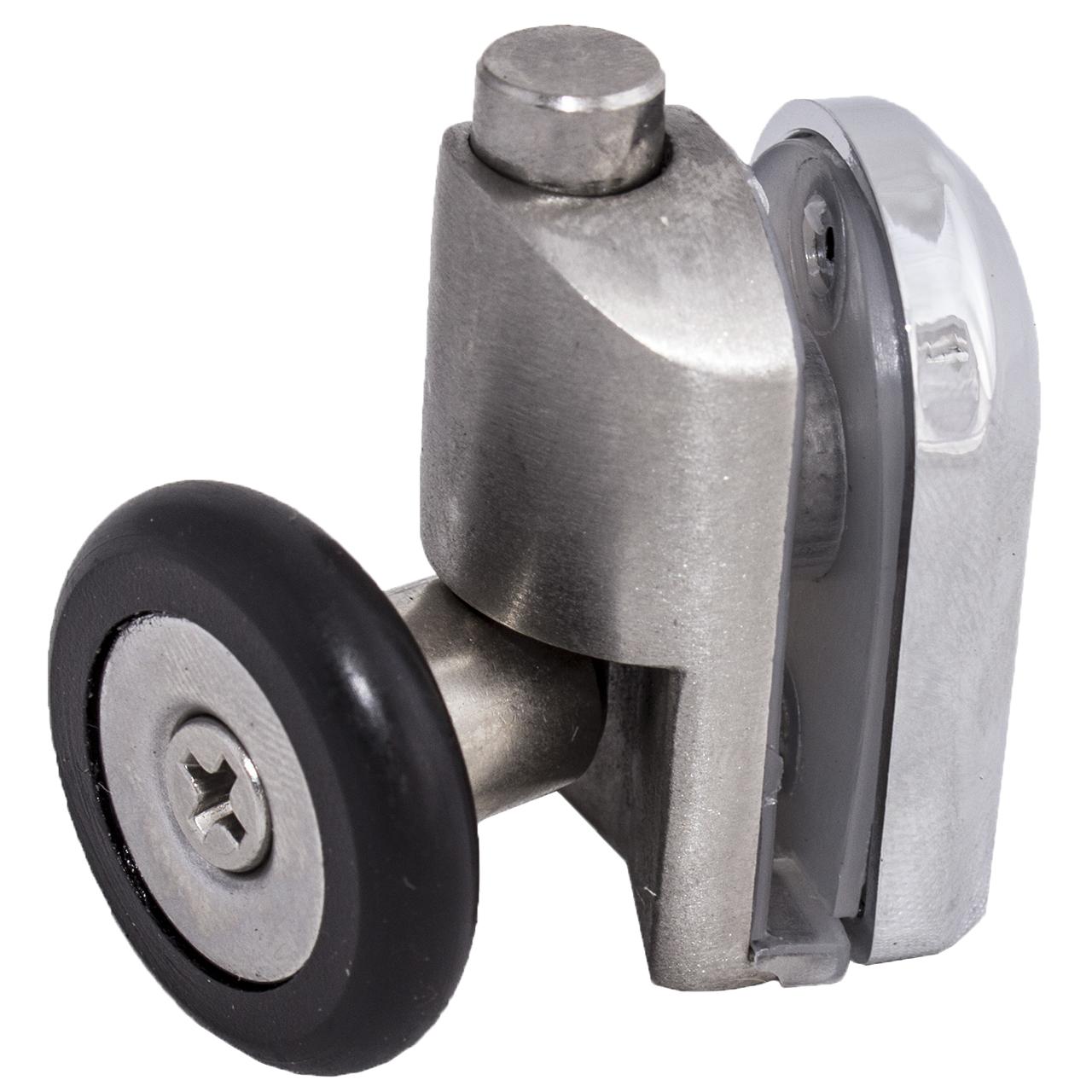 Ролик душової кабіни нижній, натискної, металевий ( N-43 А ) 28 мм