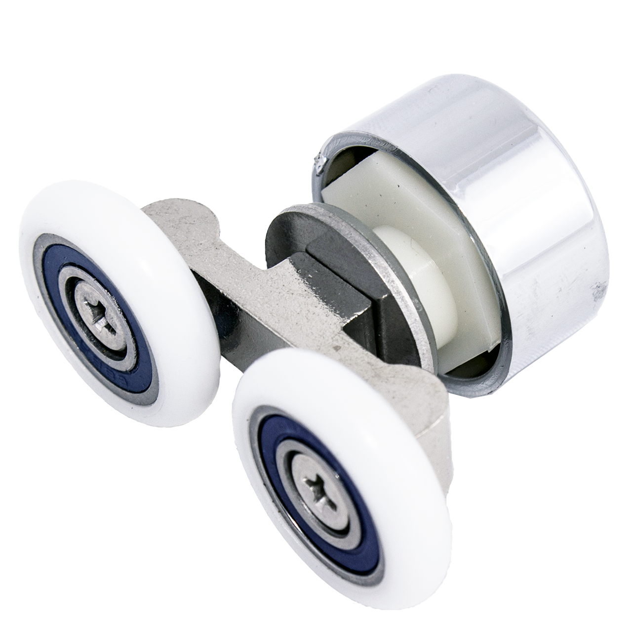 Ролик душової кабіни подвійний, не поворотний ( До-67 ) 19 мм