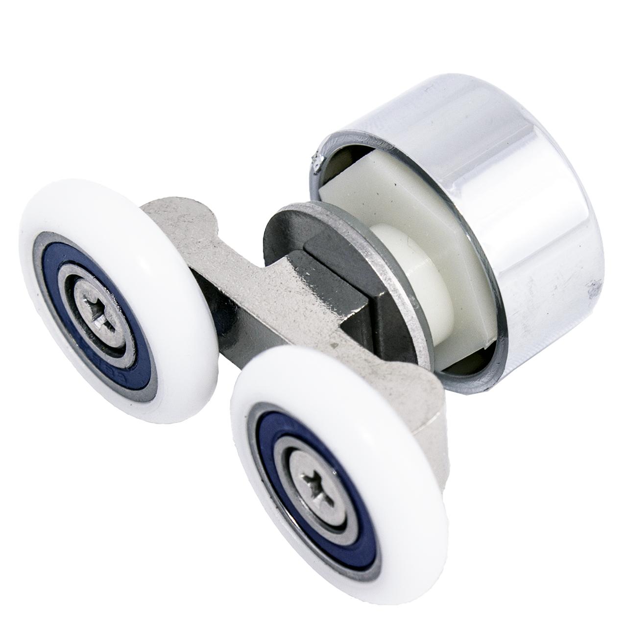 Ролик душової кабіни подвійний, не поворотний ( До-67 ) 23 мм