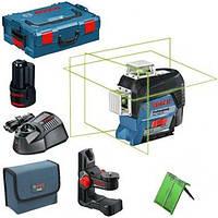 Нивелир лазерный Bosch GLL 3-80 CG + BM 1 (12 V) + L-Boxx