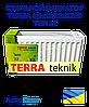Стальной радиатор TERRA teknik 300x800 тип 22 боковое подключение