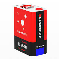 Моторное масло NANOPROTEC 10W-40 Semi-Synthetic 4L