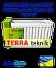 Стальной радиатор TERRA teknik 300x1100 тип 22 боковое подключение