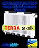 Стальной радиатор TERRA teknik 500x500 тип 22 боковое подключение