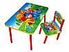 """Детский стол и стул Baby Elit """"Винни Пух""""."""