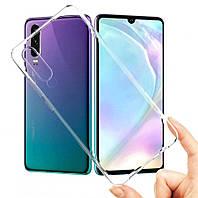 Чехол Ou Case для Huawei P30 Unique Skid Silicone, Transparent