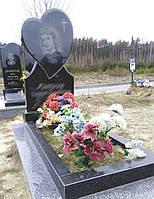 Памятник из гранита сердце