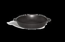 Сковорода чугунная (порционная), d=200мм, h=35мм без крышки