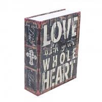 Книга сейф 18 см Love