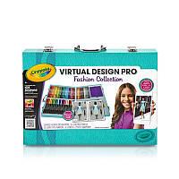 Crayola Virtual Design Pro-Fashion Крайола набор для творчества виртуальный Дизайнер