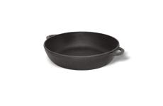 Сковорода чугунная (сотейник), d=230 мм, h=60 мм без крышки