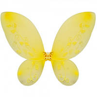Крылья Бабочки средние желтые 40х40см