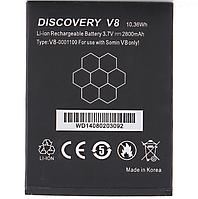 Аккумулятор Discovery V8. Батарея Discovery V8 (2800 mAh). Original АКБ (новая)