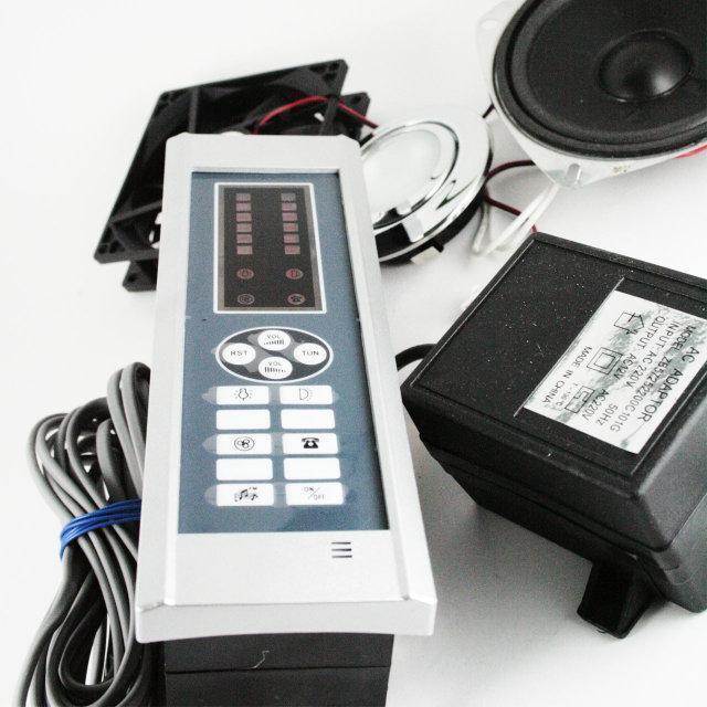 Блок управління, пульт душової кабіни кнопковий з радіо та телефоном. ( 016 ) Повний комплект