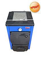 Котел твердотопливный с плитой ЭТАЛОН ЭПТ-16 кВт (сертификат качества), Украина