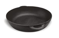 Сковорода чугунная (жаровня), d=360мм, h=80мм