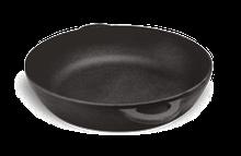 Сковорода чугунная (жаровня), d=400мм, h=90мм