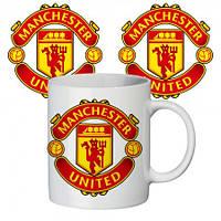 Чашка с принтом ФК Манчестер Юнайтед