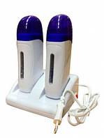 Двух кассетный воскоплав для депиляции, YVP-09