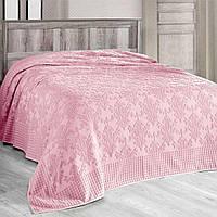 Махровое покрывало полуторное Arya Sitare розовое, фото 1
