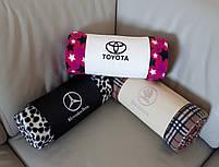 """Автомобільний плед в манжеті """"Mazda"""" - колір на вибір, фото 3"""
