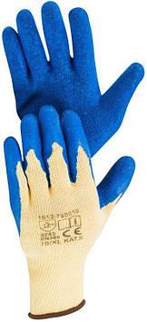 Перчатки рабочие латексные Hardy EN 388-3243, размер XL, 12 пар