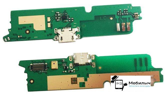 Плата зарядки для Lenovo A880, с разъемом зарядки, с микрофоном