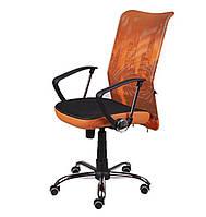 Кресло Аеро НВ черный/неаполь20/оранжевый (АМФ)