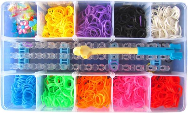Набір для плетіння Loom Bands 1800 шт. Новинка