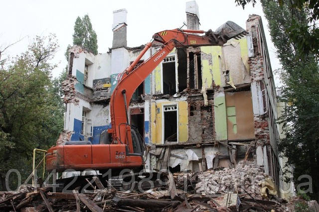 Демонтаж домов расценки