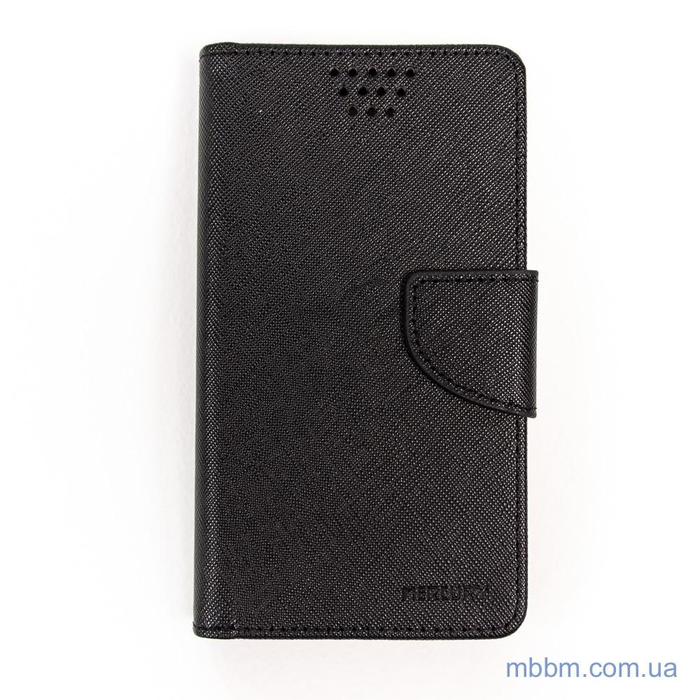 Чехол Goospery Fancy Diary Universal 4.7 black