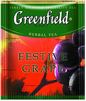Чай пакетированный Greenfield Festive Grape 100 пак. x 2 г