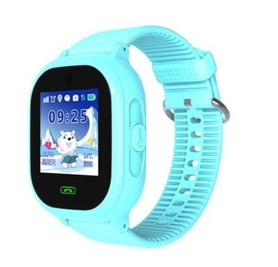 Детские Водонепроницаемые часы с gps TD05 голубые