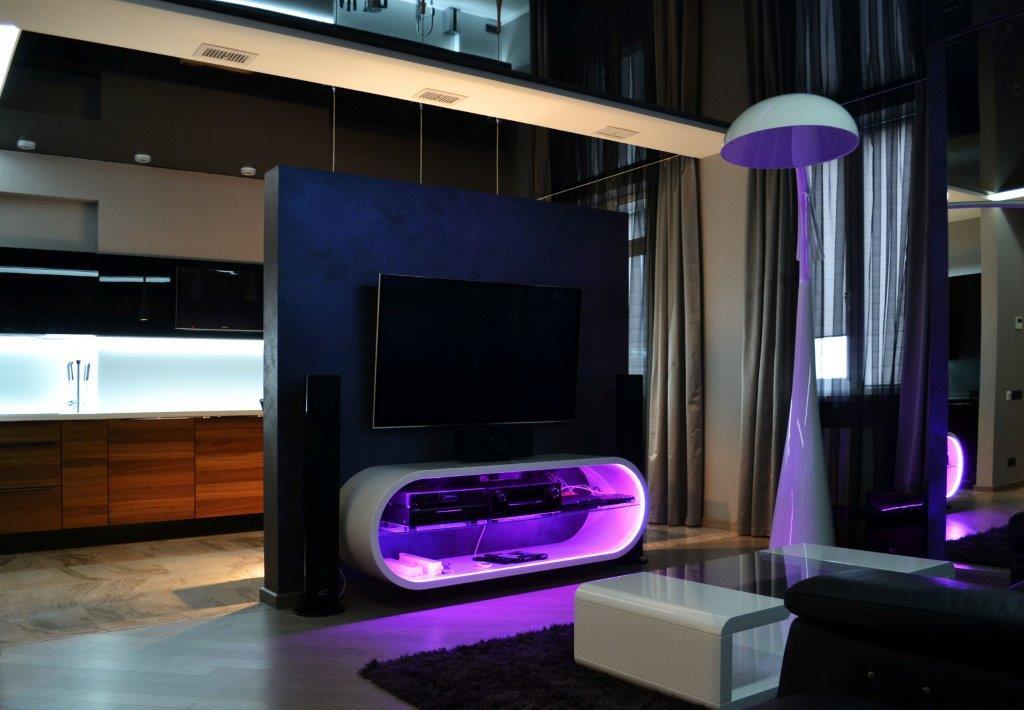 Дизайн интерьера квартиры, г. Харьков, 130м2