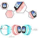 Детские Водонепроницаемые часы с gps TD05 розовые, фото 6