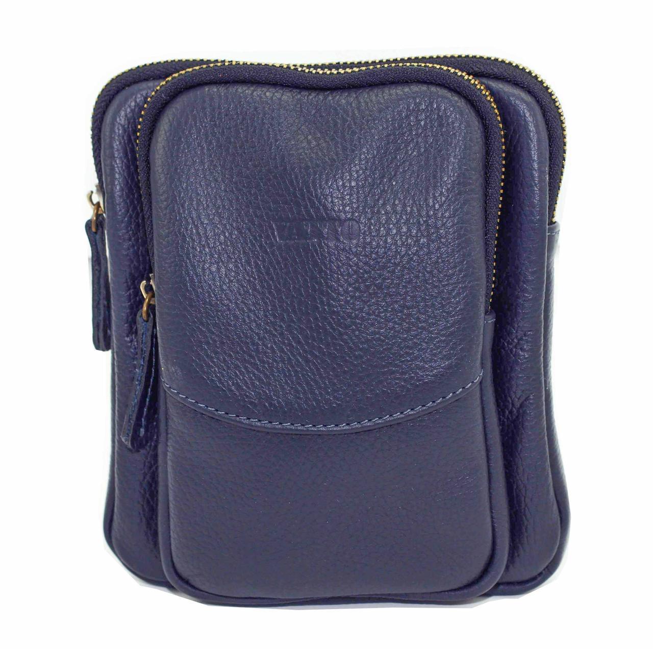 Синяя мужская сумка Vatto Mk12 F1 (Украина)