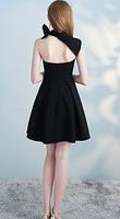 Жіноче чорне плаття на одне плече. Будь-який розмір та колір., фото 2