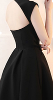 Жіноче чорне плаття на одне плече. Будь-який розмір та колір., фото 4
