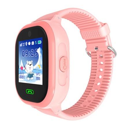 Детские Водонепроницаемые часы с gps TD05 розовые