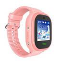 Детские Водонепроницаемые часы с gps TD05 розовые, фото 2