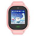 Детские Водонепроницаемые часы с gps TD05 розовые, фото 3